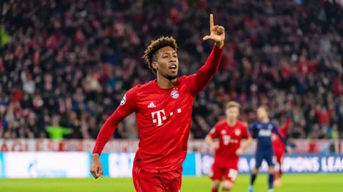 Bayern Munich: Sự trở lại quý giá  của Coman