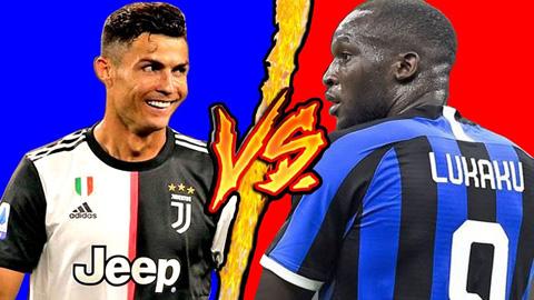 Lukaku - Ronaldo: Hai vua ghi bàn sẽ định đoạt đại chiến Inter vs Juve