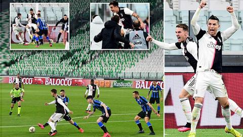 Juventus (áo sáng) đang nắm nhiều lợi thế trong trận derby d'Italia tối nay