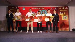 CLB futsal Sài Gòn tổ chức 10 năm ngày thành lập