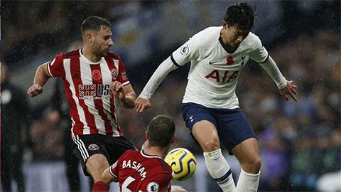 Trực tiếp Sheffield United vs Tottenham, 21h00 ngày 17/1