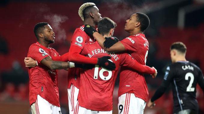 Man United có mạch trận ấn tượng để lên đầu BXH Premier League