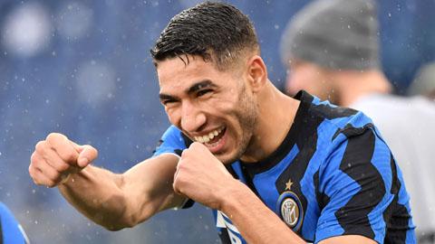 Inter không có tiền trả Real trong vụ mua Hakimi