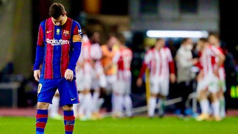 Cận cảnh pha đánh nguội khiến Messi nhận thẻ đỏ bị đuổi khỏi sân