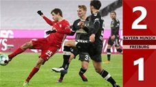 Bayern Munich 2-1 Freiburg (Vòng16 Bundesliga 2020/21)