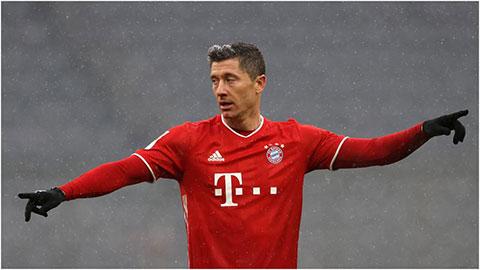 Lewandowski viết thêm một kỷ lục tại Bundesliga