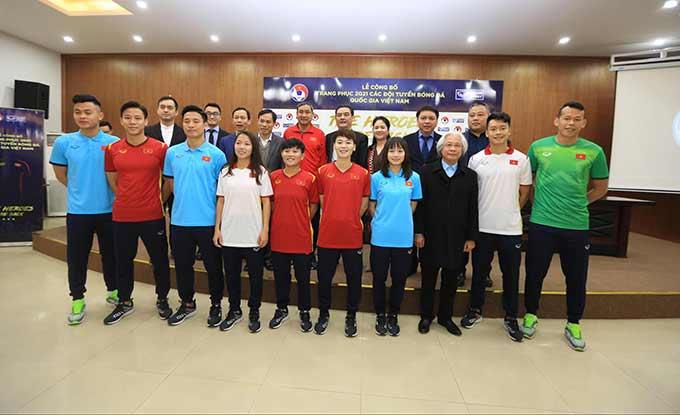 Ra mắt mẫu áo đấu mới 2021 dành cho các đội tuyển Việt Nam