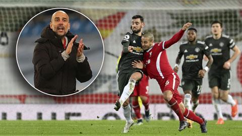 Tổng hợp vòng 19 Ngoại hạng Anh: Liverpool và M.U cầm chân nhau, Man City đắc lợi