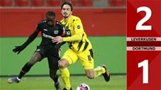 Leverkusen 2-1 Dortmund (Vòng 17 Bundesliga 2020/21)