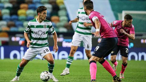 Pedro Goncalves trên đường trở thành 'Bruno Fernandes đệ nhị'