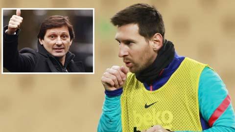 GĐTT Leonardo cho biết Messi luôn có trong danh sách quan tâm của PSG