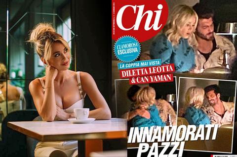 Hình ảnh hẹn hò bị rò rỉ của Diletta Leotta