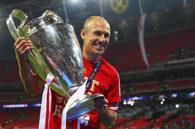 Robben tỏa sáng rực rỡ ở Bayern