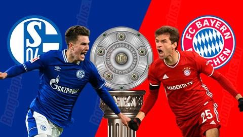 21h30 ngày 24/1: Schalke vs Bayern Venue