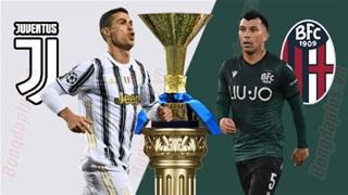 18h30 ngày 24/1: Juventus vs Bologna