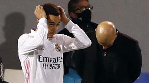 Điểm nhấn Alcoyano 2-1 Real: HLV Zidane 'nghịch dại', làm hại Kền kền