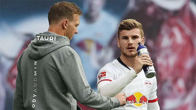 Werner từng là học trò của HLV Nagelsmann ở Leipzig