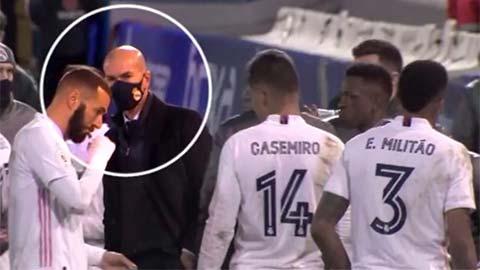 Zidane chẳng chỉ đạo gì khi Real gặp khó trước Alcoyano