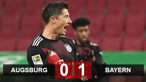 Kết quả Augsburg 0-1 Bayern: Hùm xám cắt mạch thủng lưới