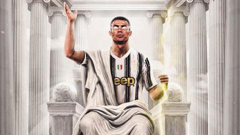 Ronaldo chính thức là cầu thủ ghi bàn xuất sắc nhất lịch sử