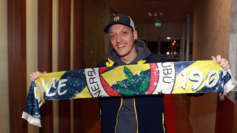 Ozil nhận mức lương khó tin ở Fenerbahce