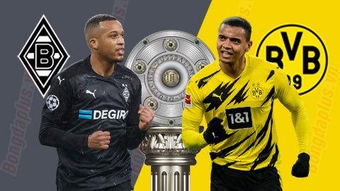 Nhận định bóng đá M'Gladbach vs Dortmund, 02h30 ngày 23/1: Gió sẽ đổi chiều