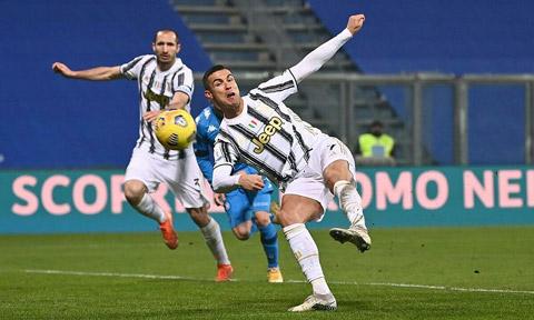 Ronaldo đã có bàn thắng thứ 760 trong sự nghiệp ở cấp CLB và ĐTQG