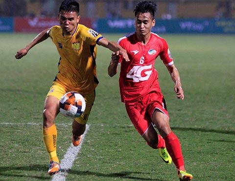 Đối đầu với Đông Á Thanh Hoá trên sân khách là thử thách lớn với Viettel