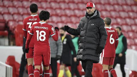 Chuỗi trận bất bại của Liverpool tại Anfield chấm hết