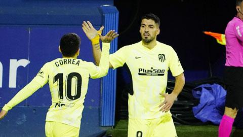Luis Suarez tiếp tục tỏa sáng
