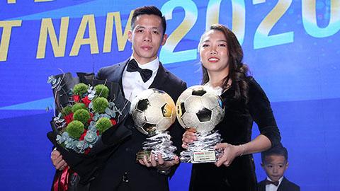 Văn Quyết bất ngờ vượt mặt Ánh Viên giành danh hiệu VĐV tiêu biểu nhất