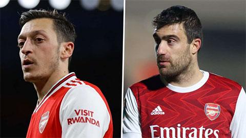 Arteta lấy Ozil & Sokratis ra răn đe cầu thủ Arsenal