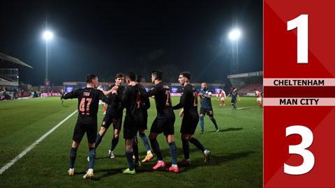 Cheltenham Town 1-3 Manchester City (Vòng 5 FA Cup 2020/21)