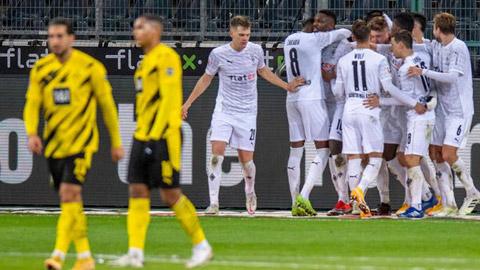 Haaland không gánh nổi hàng thủ Dortmund