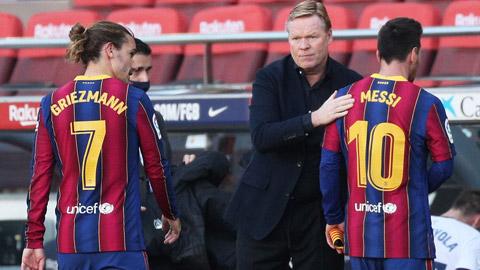 Elche vs Barca: Vắng Messi, Koeman vẫn còn nhiều 'họng súng'