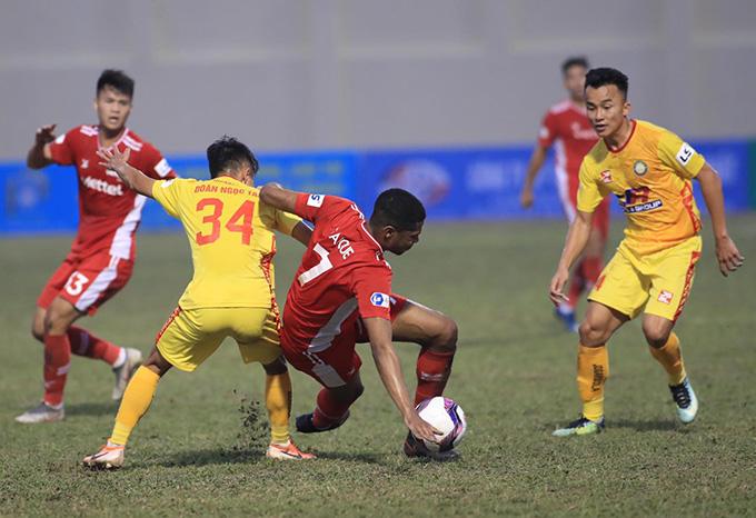 Thanh Hoá chơi tốt trước Viettel - Ảnh: Phan Tùng