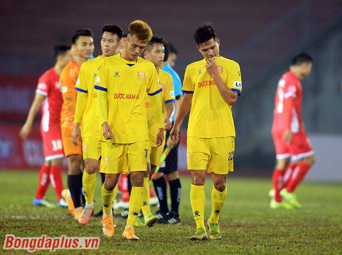 Cho đến hiện tại sau 4 mùa chơi ở V.League, Nam Định mới chỉ thắng trên sân khách đúng... 2 lần