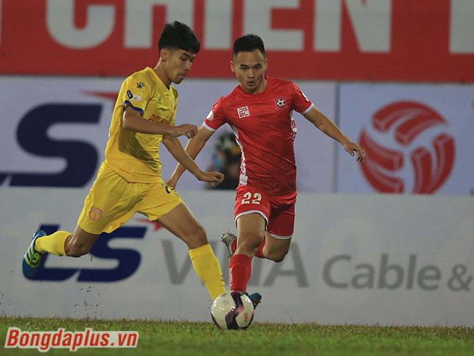 Phú Nguyên từng được lựa chọn lên đội 1 của Sông Lam Nghệ An năm 2016. Anh đá 4 trận và ghi 1 bàn thắng cho SLNA ở mùa giải lúc bấy giờ. Nhưng sau đó, số trận đấu của Phú Nguyên giảm đi ở 2 mùa sau. Lý do là bởi những chấn thương không may khiến Phú Nguyên không thể đáp ứng nhu cầu ra sân thường xuyên thi đấu.