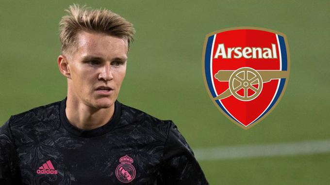 Arsenal đang rất cần Odegaard để thay thế Willian và Pepe làm nhiệm vụ sáng tạo