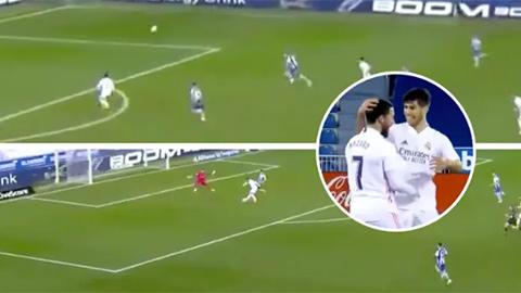 Sau 1 năm rưỡi Hazard mới chơi một trận đúng đẳng cấp