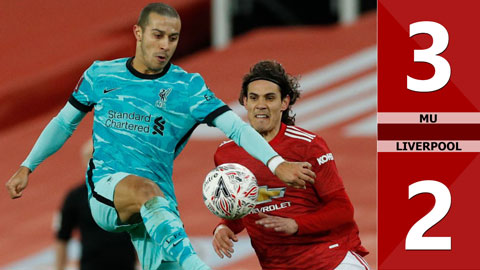 MU 3-2 Liverpool (Vòng 4 FA Cup 2020/21)