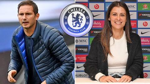 """Lộ lý do Lampard bị sa thải: Chống lại """"sếp bà"""" Granovskaia"""