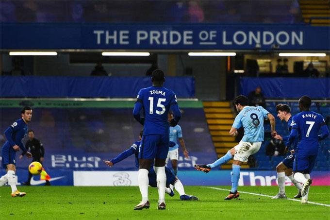 Chelsea thua Man City 1-3 trên sân nhà