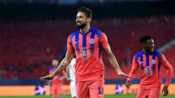 Chelsea đè bẹp Sevilla ở Champions League