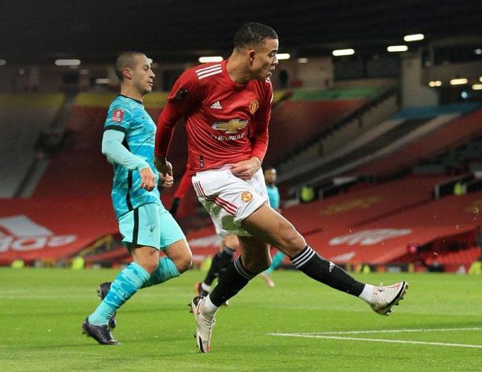 Greenwood đã có trận đấu hay trước Liverpool