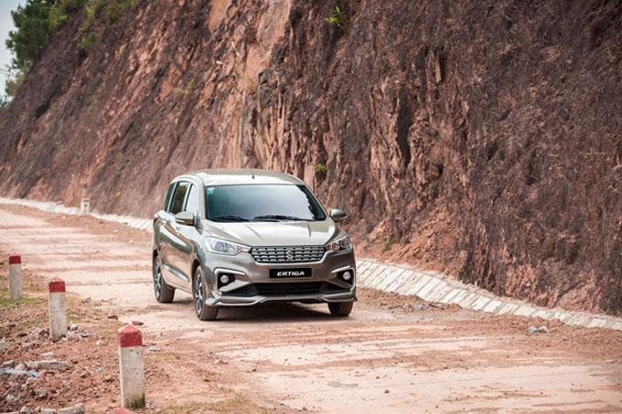 Ertiga Sport có mức tiêu thụ nhiên liệu tiết kiệm chỉ từ  4,74 lít/100km