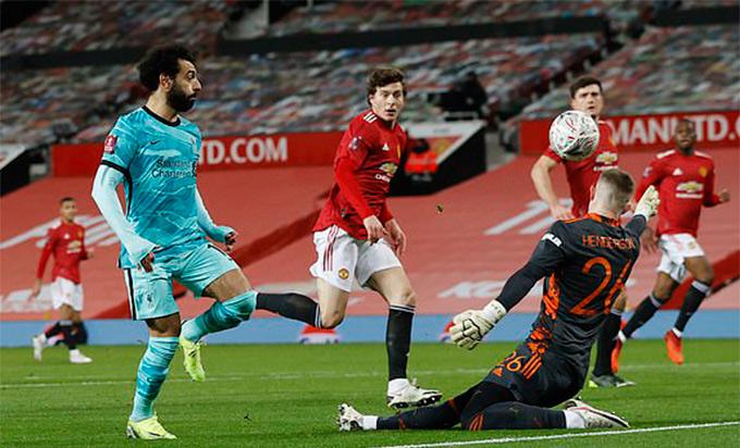 Chỉ Salah biết ghi bàn cho Liverpool