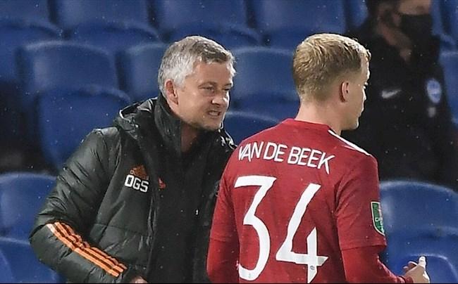 MU khó có thể hài lòng với Van de Beek
