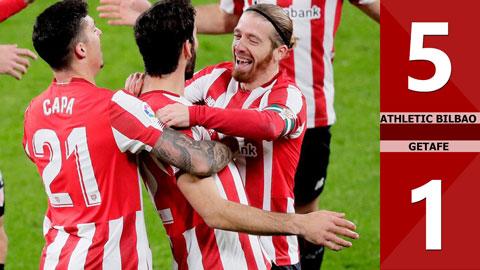 Athletic Bilbao 5-1 Getafe (Vòng 20 La Liga 2020/21)
