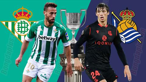 03h00 ngày 27/01: Betis vs Sociedad